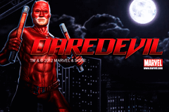 logo daredevil playtech slot game