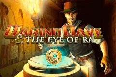 logo daring dave the eye of ra playtech slot game