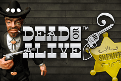 logo dead or alive netent slot game
