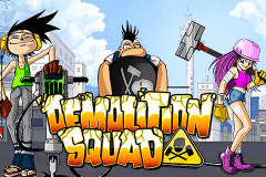 logo demolition squad netent slot game