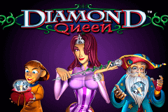logo diamond queen igt slot game