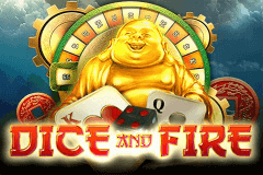 logo dice and fire pragmatic