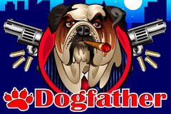 logo dogfather microgaming slot game
