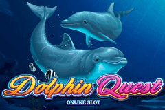 logo dolphin quest microgaming slot game