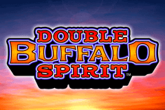 logo double buffalo spirit wms slot game
