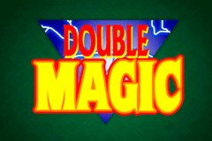 logo double magic microgaming slot game