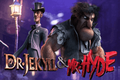logo dr jekyll mr hyde betsoft slot game