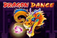logo dragon dance microgaming slot game