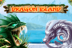 logo dragon island netent slot game