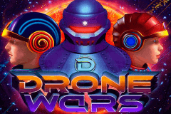 logo drone wars microgaming slot game