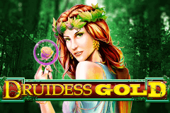 logo druidess gold lightning box slot game
