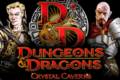 logo dungeons and dragons crystal caverns igt slot game