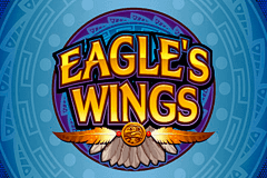 logo eagles wings microgaming slot game