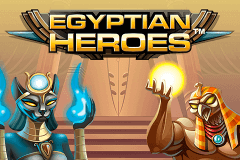 logo egyptian heroes netent slot game