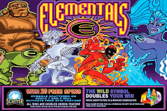 ELEMENTALS MICROGAMING SLOT GAME