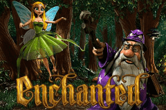 logo enchanted betsoft slot game