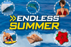 logo endless summer merkur slot game