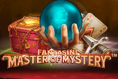 logo fantasini master of mystery netent slot game