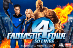 FANTASTIC FOUR 50 LINES PLAYTECH SLOT GAME