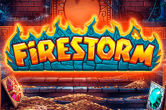 logo firestorm quickspin slot game