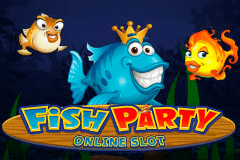 logo fish party microgaming slot game