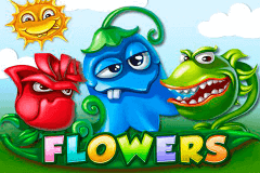 logo flowers netent slot game