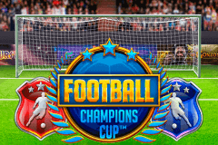 logo football champions cup netent slot game