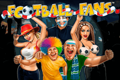 logo football fans playtech slot game