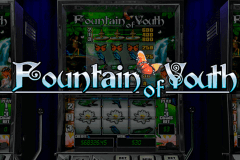 logo fountain of youth playtech slot game