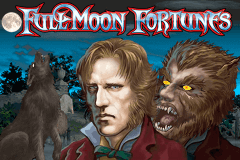 logo full moon fortunes playtech slot game
