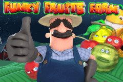 logo funky fruits farm playtech slot game