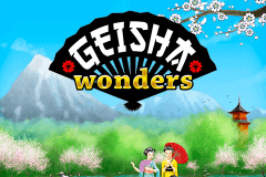 logo geisha wonders netent slot game