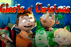 logo ghosts of christmas playtech slot game