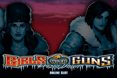 logo girls with guns frozen dawn microgaming slot game