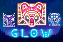 logo glow netent slot game