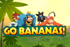logo go bananas netent slot game