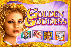 logo golden goddess igt slot game