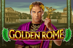 logo golden rome leander slot game
