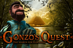 logo gonzos quest netent slot game