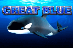 logo great blue playtech slot game