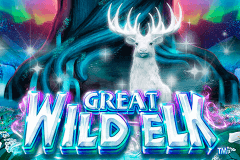 logo great wild elk nextgen gaming slot game