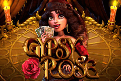 logo gypsy rose betsoft slot game
