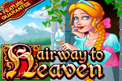 logo hairway to heaven rtg slot game