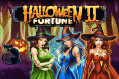 logo halloween fortune ii playtech slot game