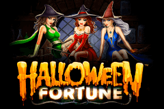 logo halloween fortune playtech slot game
