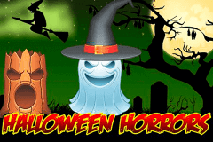 logo halloween horrors 1x2gaming slot game