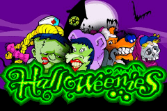 logo halloweenies microgaming slot game