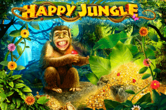 logo happy jungle playson slot game