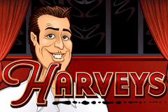 logo harveys microgaming slot game
