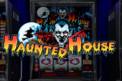 logo haunted house playtech slot game